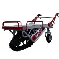 新型アルミ製電動クローラー運搬車『ハコボA』